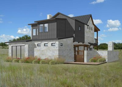 The Beck Back View The Residences at Rough Creek Lodge