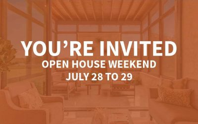 Open House Weekend | July 28 to 29